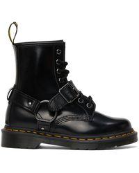 Dr. Martens ブラック 1460 ハーネス ブーツ