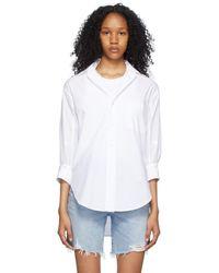 Citizens of Humanity White Kaila Oversized Shirt