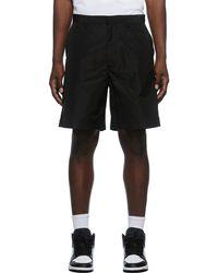Off-White c/o Virgil Abloh Diag Poly Shorts - Black