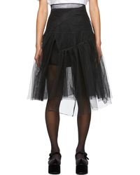ShuShu/Tong Ssense 限定 ブラック チュール スカート