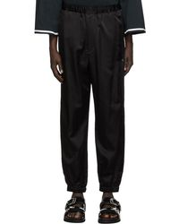 Sasquatchfabrix Pantalon noir Ventilation Western