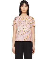 Raquel Allegra Pink Tie-dye Boy T-shirt