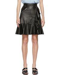 Alexander McQueen ブラック ミニスカート