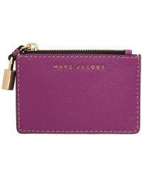 Marc Jacobs - Pink Logo Multi Card Holder - Lyst