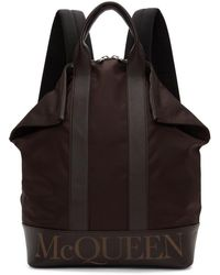 Alexander McQueen - Burgundy De Manta Backpack - Lyst
