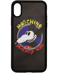 Moschino ブラック Chinese New Year Mickey Rat Iphone Xs/x ケース