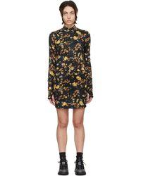 McQ Albion コレクション ブラック ドレス
