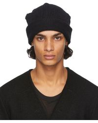 The Viridi-anne Black Daniel Andresen Edition Wool Beanie