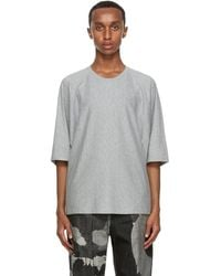 Homme Plissé Issey Miyake - グレー Release T シャツ - Lyst