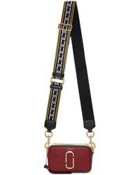 Marc Jacobs - Burgundy Small Snapshot Bag - Lyst