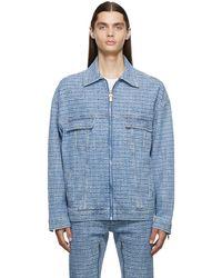 Givenchy ブルー 4g デニム ジャケット