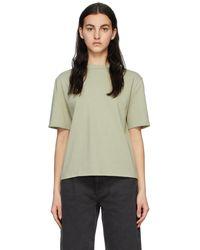 Amomento Green Mock Neck T-shirt
