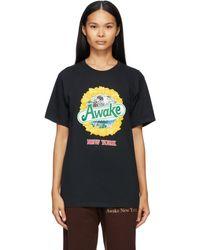 AWAKE NY - ブラック Strawberry Kiwi T シャツ - Lyst