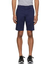 Prada - Navy Tailored Shorts - Lyst