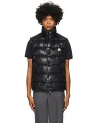 Moncler Quilted Shell-down Gilet - Black