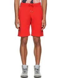 Christopher Kane - Red Fleecy Shorts - Lyst