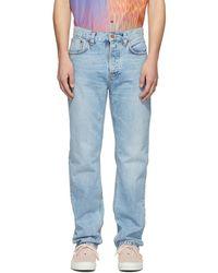 Nudie Jeans - Blue Sleepy Sixten Jeans - Lyst