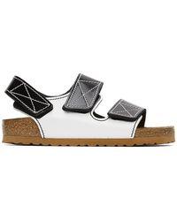 Proenza Schouler Birkenstock Edition ブラック And ホワイト Milano サンダル