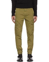 Belstaff - Tan Thorney Cargo Pants - Lyst