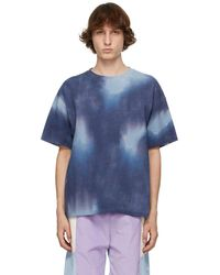 Schnayderman's Blue Tie-dye T-shirt
