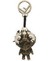 Fendi - Beige Space Monkeys Charm - Lyst