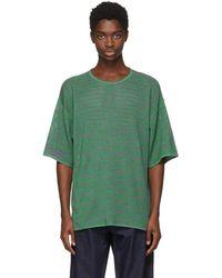 Missoni - Green Oversized T-shirt - Lyst