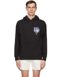 Levi's Black Relaxed Graphic Hoodie
