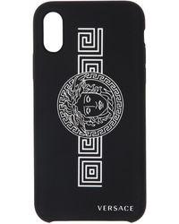 Versace - ブラック メドゥーサ Iphone X/xs ケース - Lyst