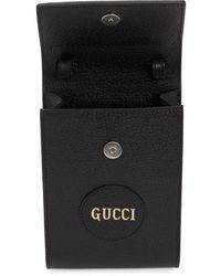 Gucci - ブラック ロゴ メッセンジャー バッグ - Lyst