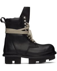 Rick Owens - Army Megatooth Boots - Lyst