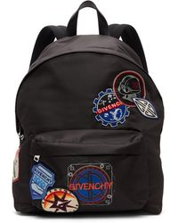 Givenchy - ブラック Patches バックパック - Lyst
