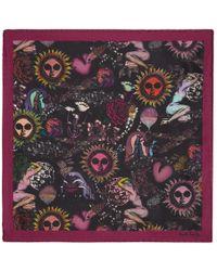 Paul Smith - Purple 1974 Pocket Square - Lyst