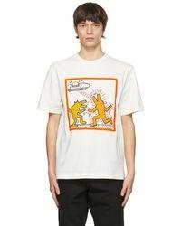 Etudes Studio Keith Haring エディション オフホワイト Wonder T シャツ