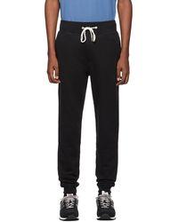 Rag & Bone Pantalon de survêtement noir Classic