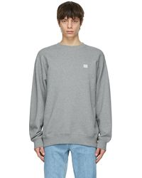 Acne Studios Gray Oversized Sweatshirt