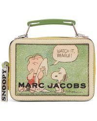 Marc Jacobs マルチカラー Peanuts The Mini ボックス バッグ