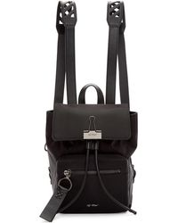 Off-White c/o Virgil Abloh - Black Nylon Mini Backpack - Lyst