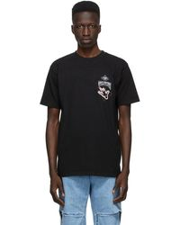 Total Luxury Spa Black 'equilibrium' T-shirt