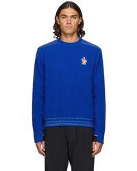 3 MONCLER GRENOBLE ブルー Maglia スウェットシャツ