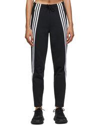 adidas Originals 3-stripes Double Knit Lounge Pants - Black