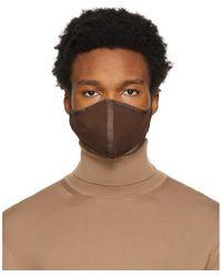 Tom Ford - ブラウン ロゴ フェイス マスク - Lyst