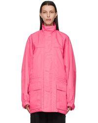 Balenciaga - ピンク ライト パーカー - Lyst