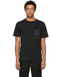 DIESEL - Black T-wallet T-shirt - Lyst