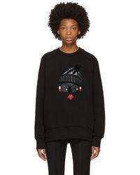Moncler Grenoble - Black Face Sweatshirt - Lyst