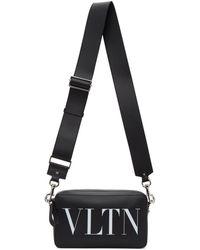 Valentino Garavani コレクション ブラック And ホワイト Vltn クロスボディ バッグ