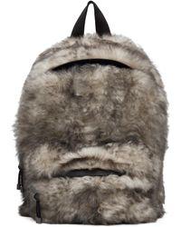 Vetements White Lambskin Backpack