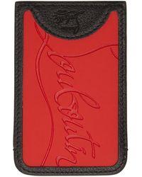 a963454a563 Black Loubislide Trainer Sole Card Holder - Multicolour