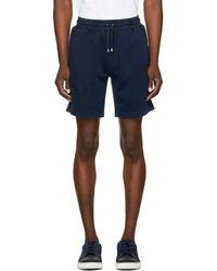 Burberry - Navy Hestford Shorts - Lyst