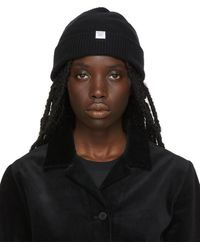 Norse Projects Norse Beanie - Black