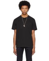 Courreges Jersey T-shirt - Black